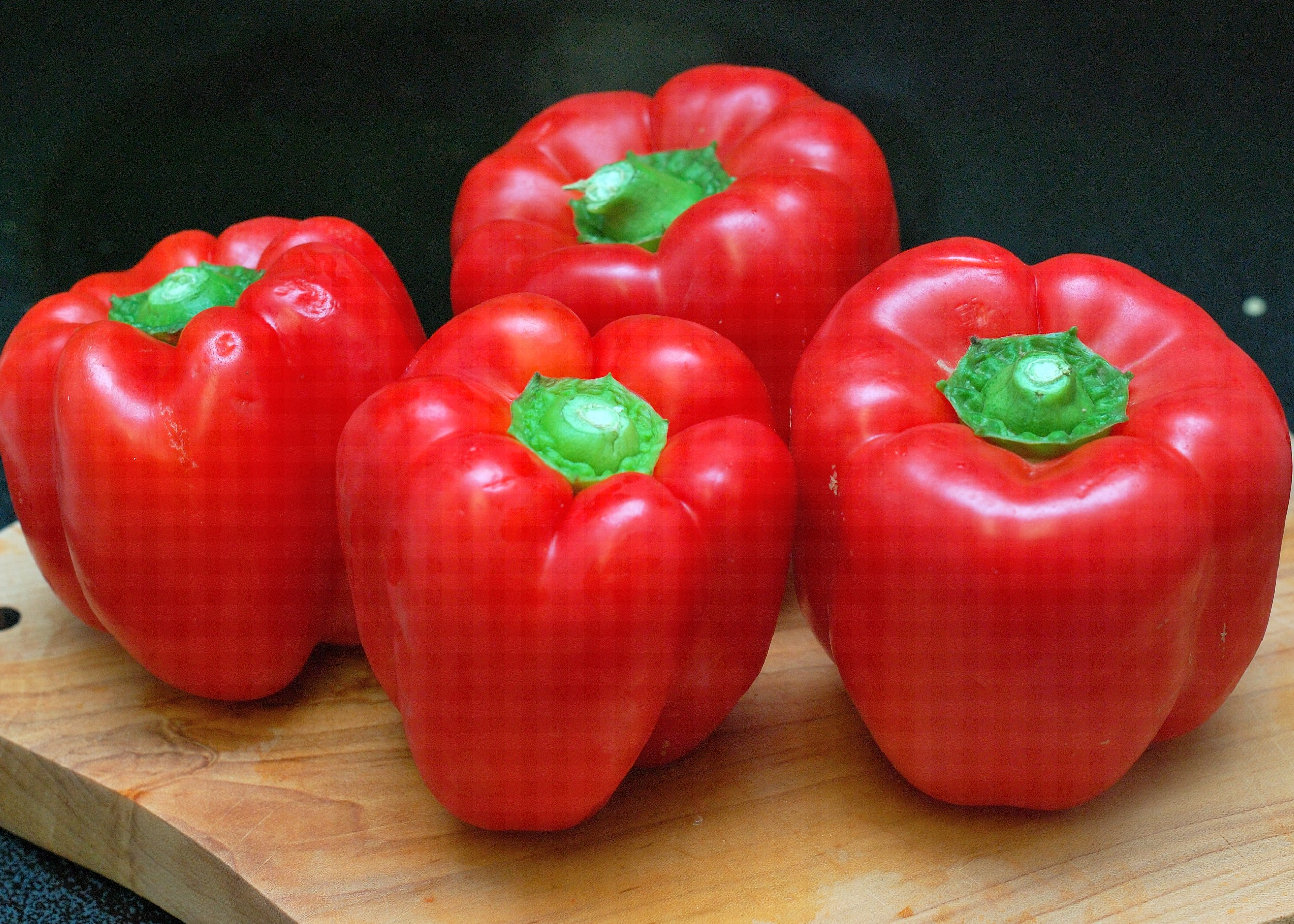 red bell pepper | Counting Our Veggies