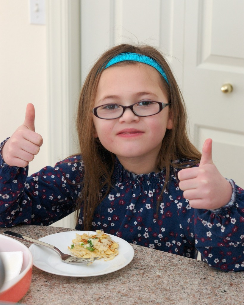 Two Thumbs Up for Radish Cakes